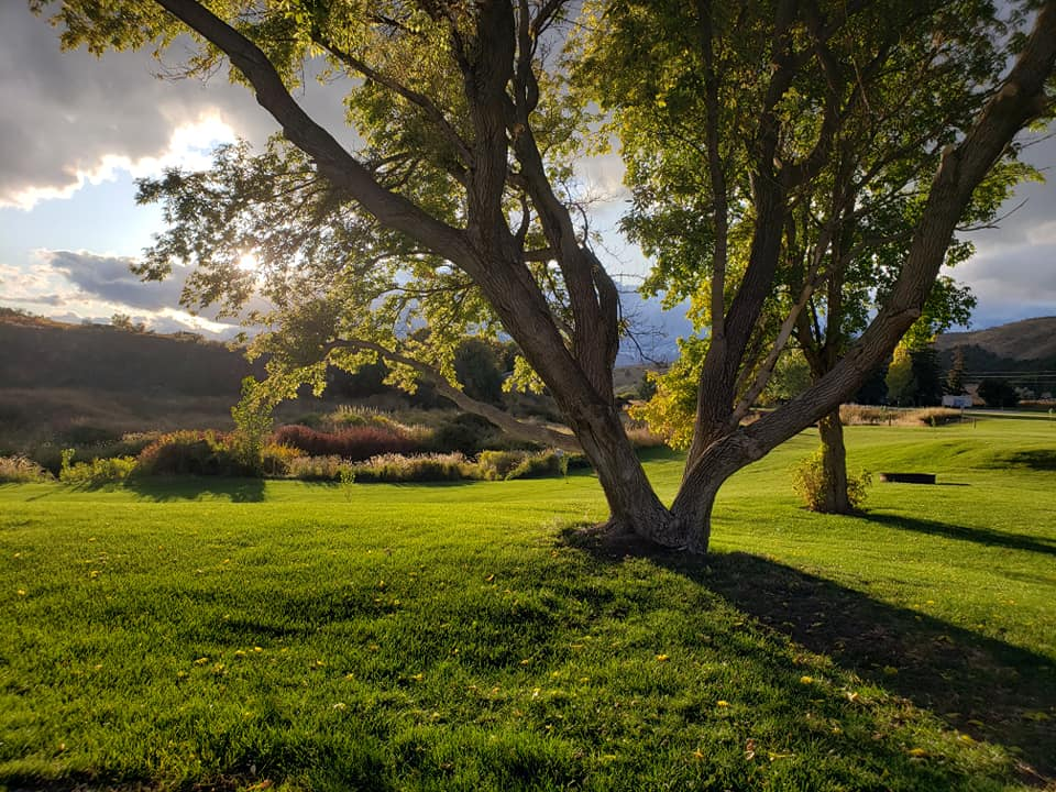 Crystal Springs Campground RV Park near Lava Hot Springs Idaho
